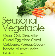 Seasonal Vegetable